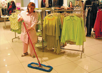 Commercial Retail Shop Cleaning Services London
